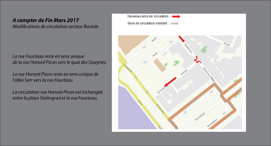 Plan circulation Picon/Fourteau - article